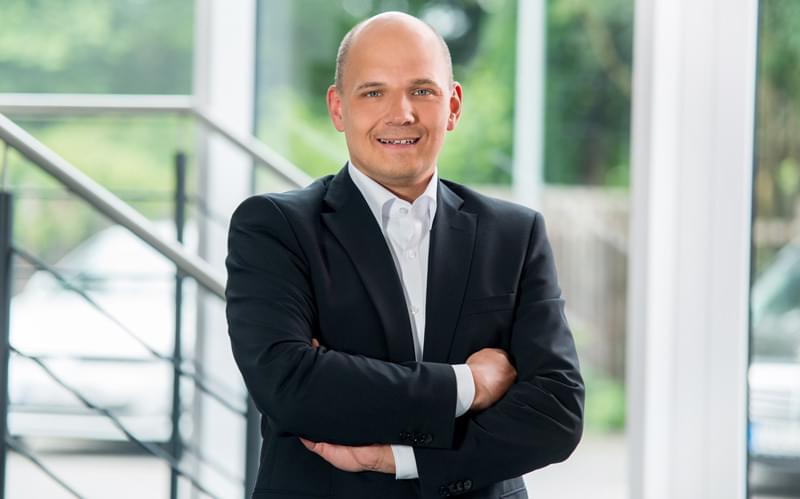 KRK Geschäftsführer Dennis Möllenbruck